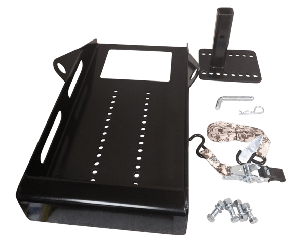 Restore-Lite-hitch-carrier kit disassembled.
