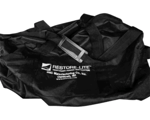 Image of duffel bag with SNC Manufacturing logo.
