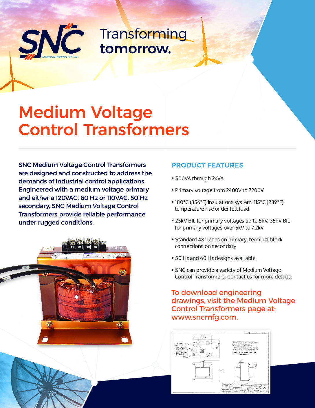 Medium Voltage Control Transformers PDF thumbnail