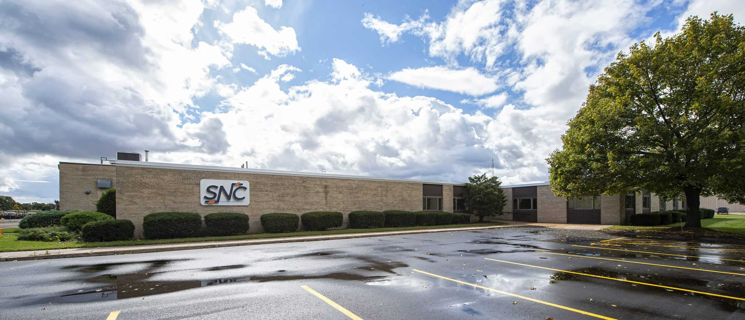 SNC Manufacturing Co., Inc. building exterior.